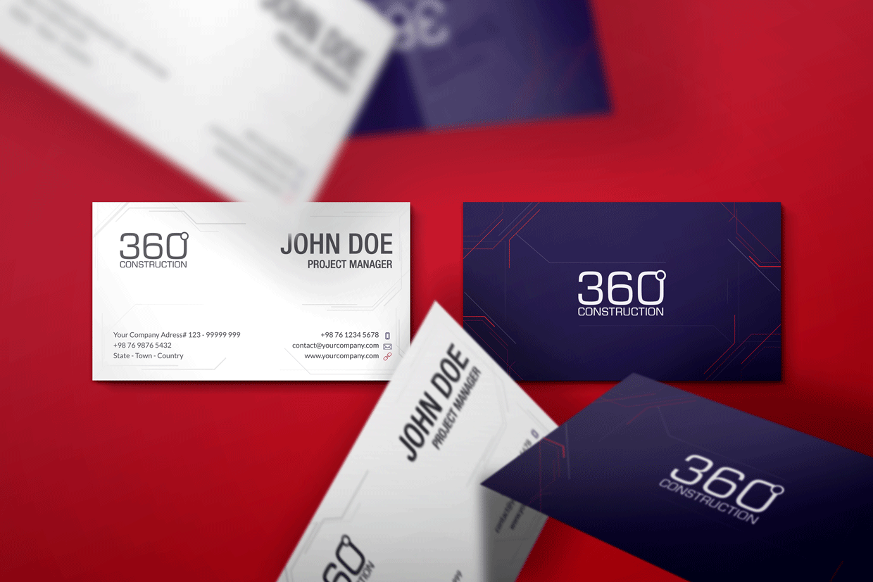 360 business card